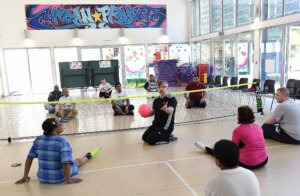 PA Pool Inclusive sitting volleyball session