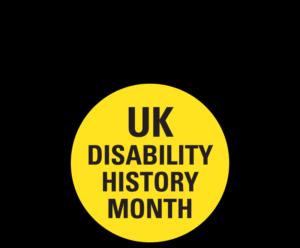 UK Disability History Month logo
